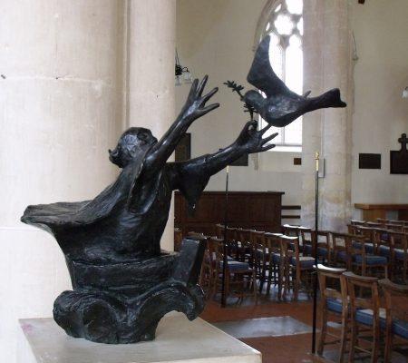Orford Noah sculpture